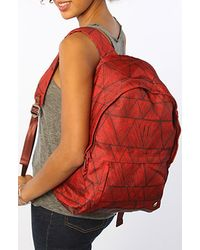 Nixon The Excursion Backpack in Bermuda Red - Lyst