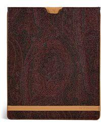 Etro - Claret Signature Print Ipad Case - Lyst