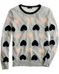 J.Crew Heartbreaker Sweater gray - Lyst