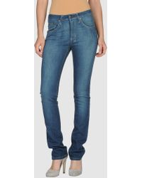 18th Amendment - Denim Trousers - Lyst