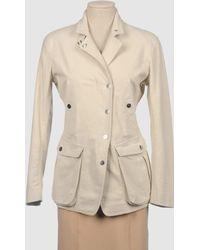 Donna Karan New York Jacket beige - Lyst