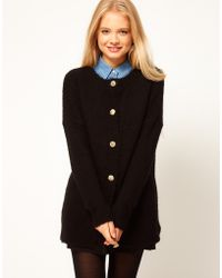 ASOS Collection Asos Vintage Button Cardigan - Lyst