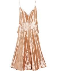 CALVIN KLEIN 205W39NYC - Kainen Metallic Lurex-blend Dress - Lyst