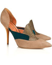 Edmundo Castillo 100mm Multi Suzanne Pointed Courts - Lyst