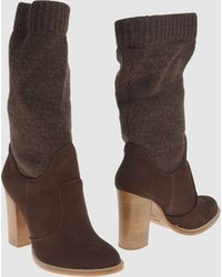 Get U High-Heeled Boots - Lyst