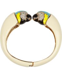 Juicy Couture - Parrot Crystal Enamel Bracelet - Lyst