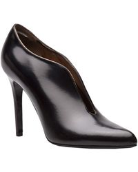 Lanvin Leather Bootie - Lyst
