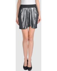 LNA Mini Skirt - Lyst