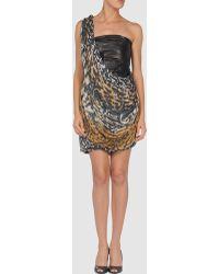 Malandrino Short Dresses - Lyst