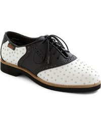 ModCloth Studly Shoe Right Flat - Lyst