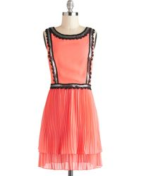 ModCloth Tracy Reese Fete Noticed Dress - Lyst