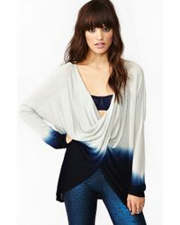 Nasty Gal Twisted Dip Dye Top - Lyst