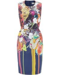 Preen By Thorton Bregazzi Paint Splash Bloom Dress - Lyst