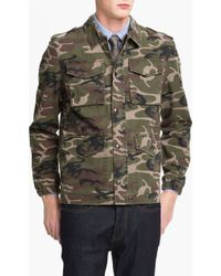 Topman Blenheim Camo Field Jacket - Lyst