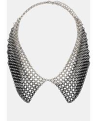 Topshop Chain Drape Collar Necklace - Lyst