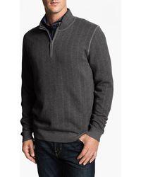 Tommy Bahama High Season Half Zip Sweater - Lyst