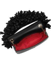 Christian Louboutin Artemis Embellished Leather Shoulder Bag - Lyst