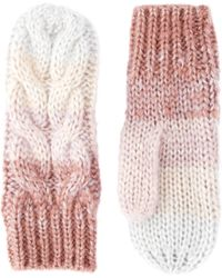 River Island - Cable Ombre Mittens - Lyst