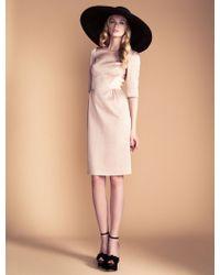 Temperley London Vivienne Sleeved Dress - Lyst