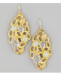 Alexis Bittar Siyabona Petal Earrings - Lyst