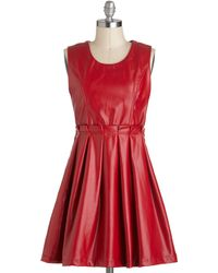 ModCloth Face Your Fierce Dress - Lyst