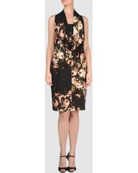 Paul Smith Black Label Short Dress - Lyst