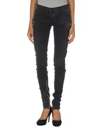 Balmain Denim Trousers - Lyst