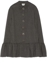Alice By Temperley - Roberto Ruffle Trimmed Woven Cape - Lyst