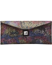 Kara Ross - Stretch Prunella Clutch - Lyst
