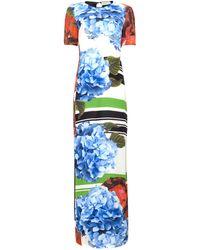 Preen Poppy Stripe Wyatt Dress - Lyst