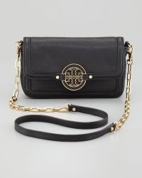 Tory Burch Amanda Mini Crossbody Bag Black - Lyst