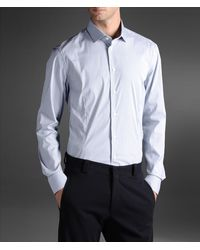 Armani Long Sleeve Shirt - Lyst