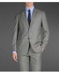 Armani Two Button Suit - Lyst