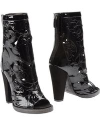 Balmain High Heeled Boots - Lyst