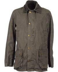 Barbour Midlength Jacket - Lyst