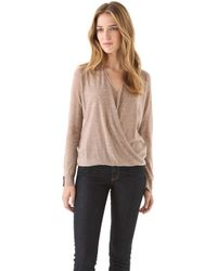 Brochu Walker Tissue Cashmere Sweater - Lyst
