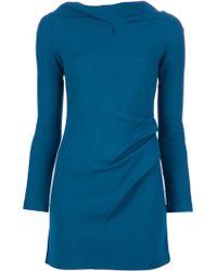 Roland Mouret Samiel Tunic Dress blue - Lyst