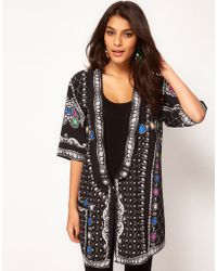 ASOS Collection Asos Jacket with Jewel Placement Print - Lyst