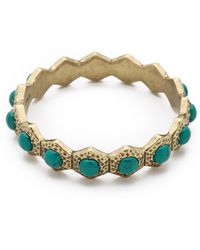 Giles & Brother - Hippolyta Stone Bangle - Lyst