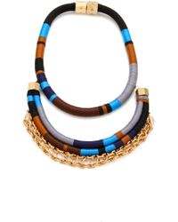 Holst + Lee   Man On Wire Necklace   Lyst