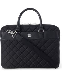 Knomo - Avignon Quilted 13 Laptop Briefcase - Lyst
