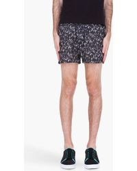Marc By Marc Jacobs - Grey Kyle Camo Swim Shorts - Lyst