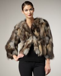 Tasha Tarno - Cross Fox Fur Chubby - Lyst