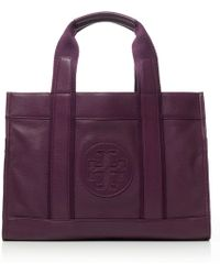 Tory Burch Leather Tory Tote - Lyst