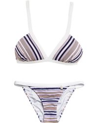Anna & Boy - Seersucker Striped Bikini - Lyst