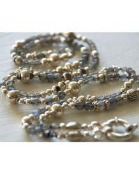 Vivien Frank Designs Luxe Labradorite Necklace - Lyst