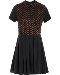 Opening Ceremony Beaded Front Dress - Lyst
