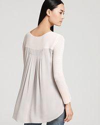 Sachin & Babi Sweater Tibia Pleated Back - Lyst