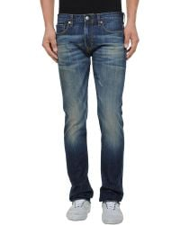 Simon Spurr - Denim Pants - Lyst