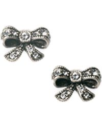 Cath Kidston - Crystal Bow Earrings - Lyst